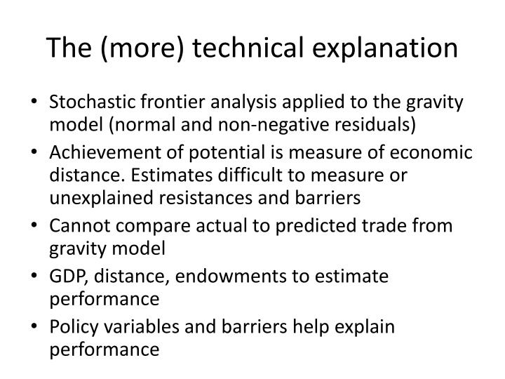 The (more) technical explanation