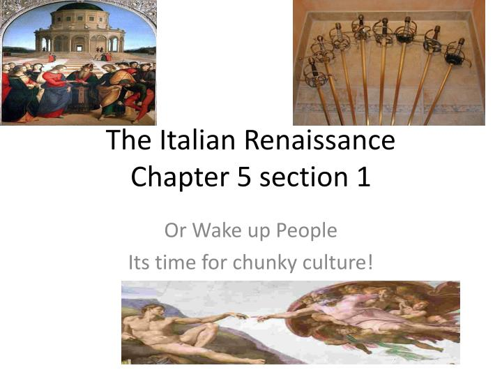 an analysis of the italian renaissance and its representatives The renaissance philosophical thought and artistic style initially encounter opinions against it and was accused of being the liberals and neo-pagans style, but the uncompromising pursuit of the dominican friar girolamo savonarola (1452-1498) could not stop the progress of mankind thinking towards.