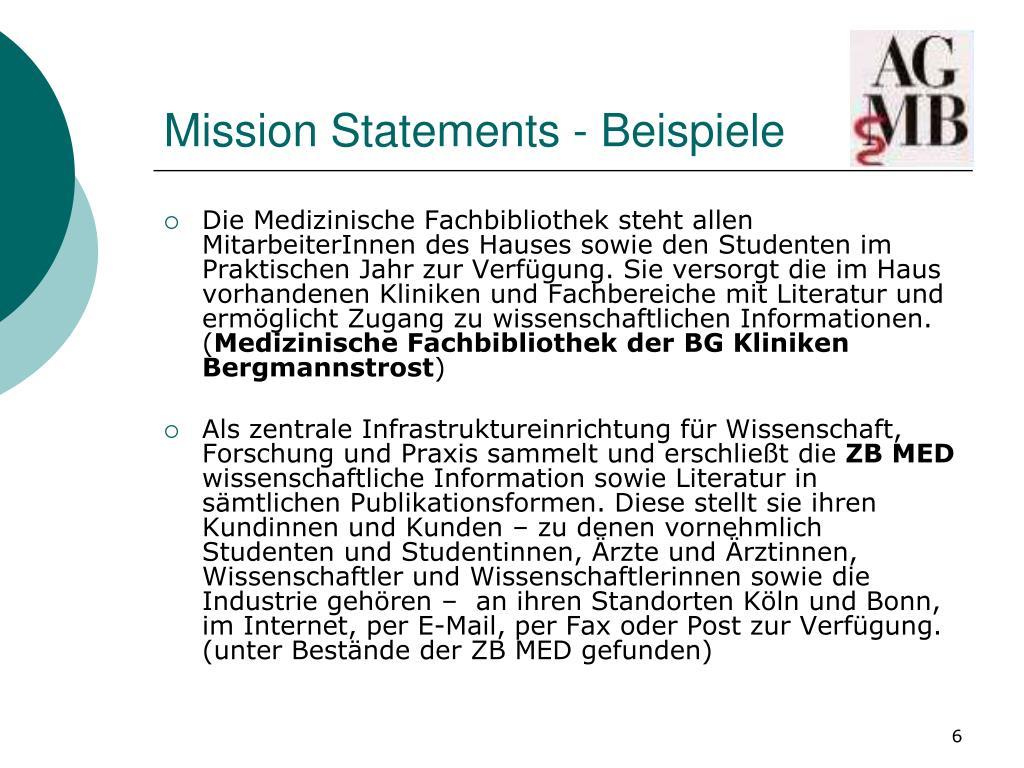 Von Der Vision Zur Mission Die Definition Zweier Statements 2