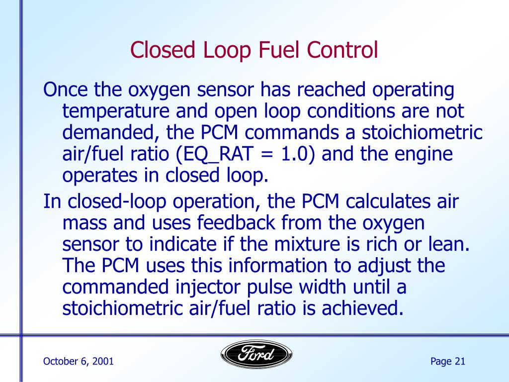 PPT - The Basics of Fuel Control PowerPoint Presentation