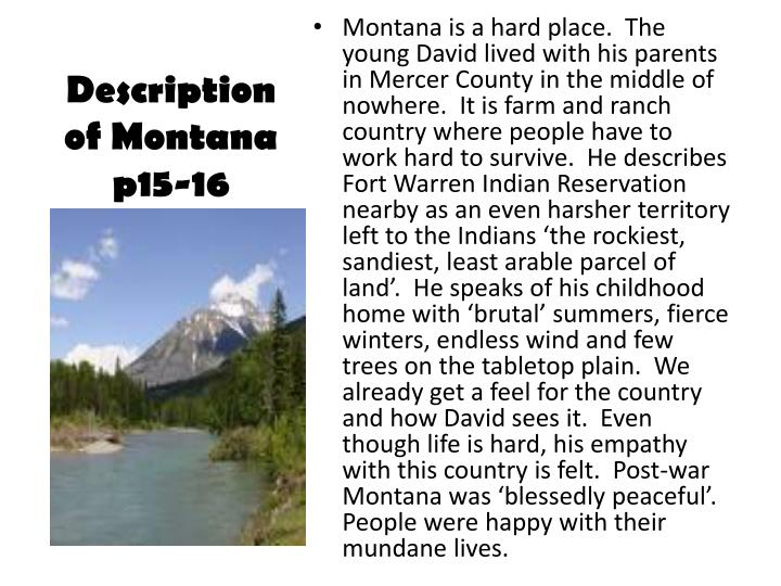 montana 1948 struggle for individual The montana 1948 lesson plan is designed to help teachers and educators plan classroom activities and instruction.
