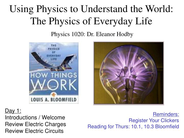 Physics in everyday life essay | College paper Academic Service ...