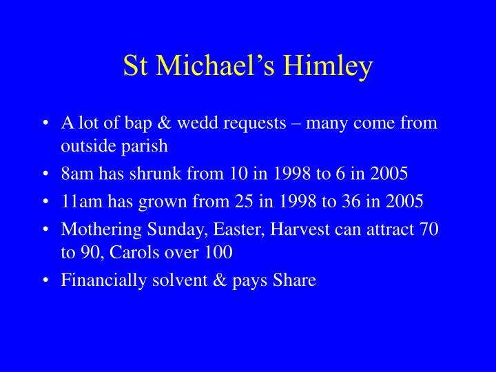 St Michael's Himley