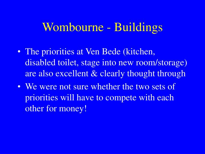 Wombourne - Buildings