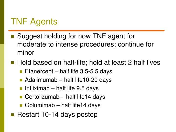 TNF Agents