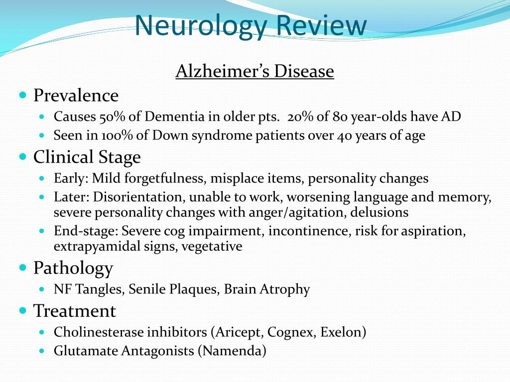 PPT - Neurology Review PowerPoint Presentation - ID:5589715