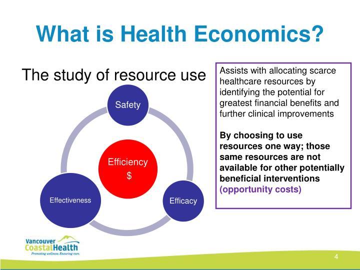 What is Health Economics?