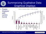 summarizing qualitative data graphical displays2
