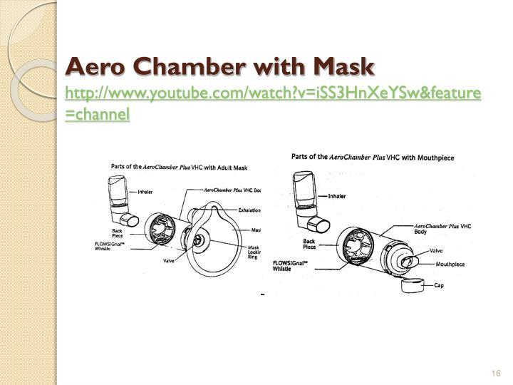 Aero Chamber with Mask