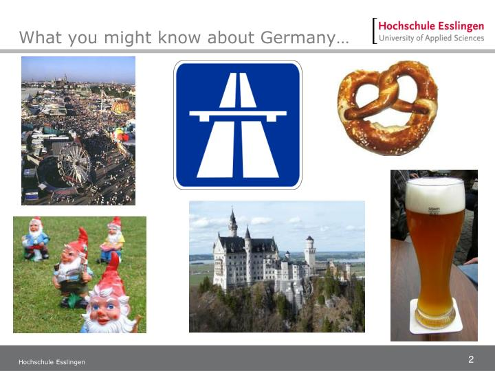 What you might know about germany