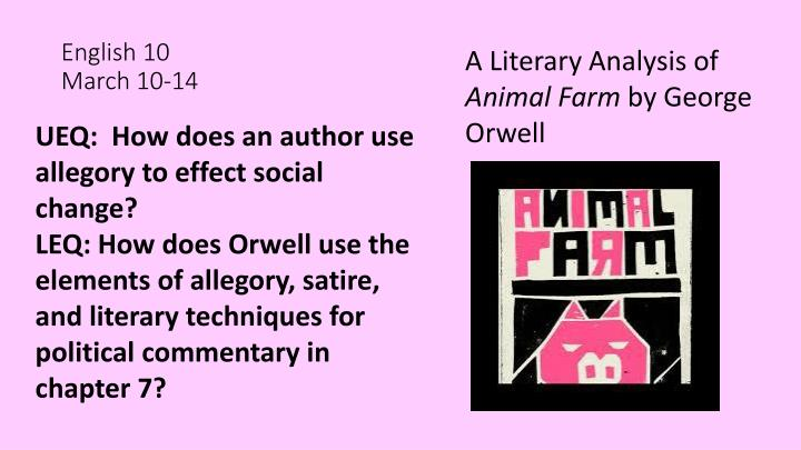 literary analysis about an idealistic society in 1984 by george orwell Literature study guides the irony in 1984 by george orwell is embodied in the party's slogan: quotes from 1984 by george orwell 1984 character analysis.