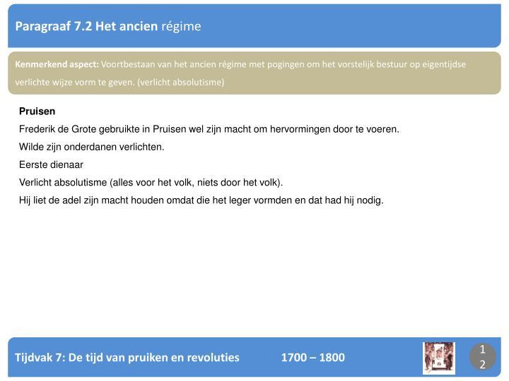 PPT - Tijdvak 7: De tijd van pruiken en revoluties 1700 – 1800 Eeuw ...
