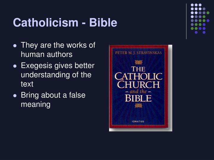 Catholicism bible