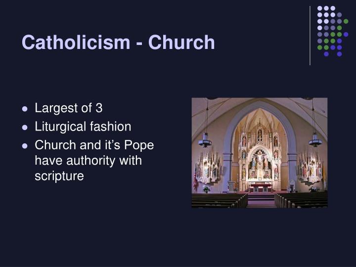 Catholicism - Church