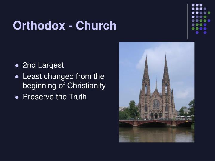 Orthodox - Church