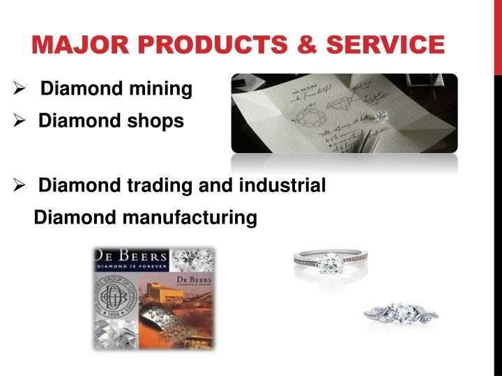 Major products & service
