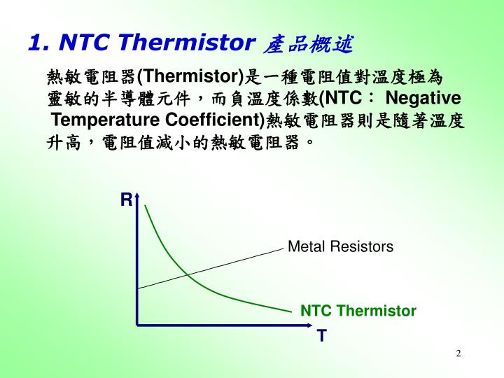 1 ntc thermistor