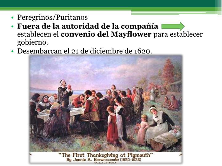 Peregrinos/Puritanos