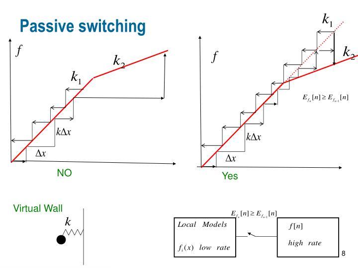 Passive switching