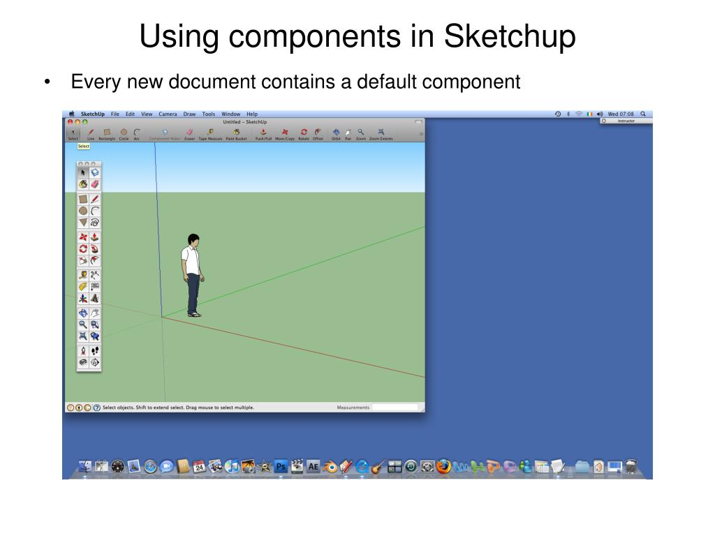 PPT - Components in Sketchup PowerPoint Presentation - ID