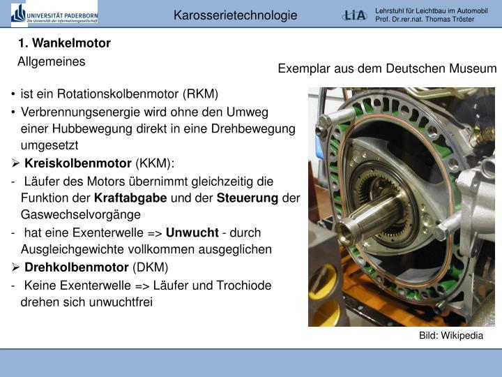 1. Wankelmotor