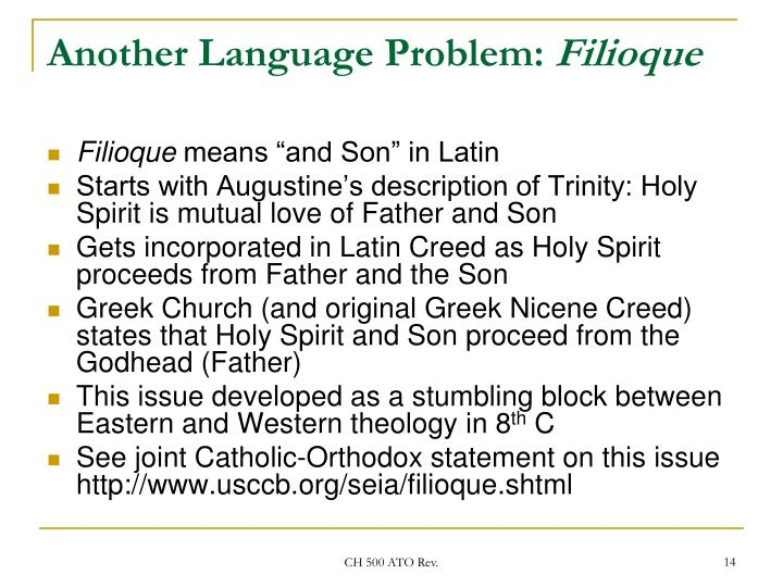 Another Language Problem: