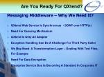are you ready for qxtend13
