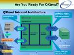 are you ready for qxtend4