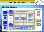 are you ready for qxtend7