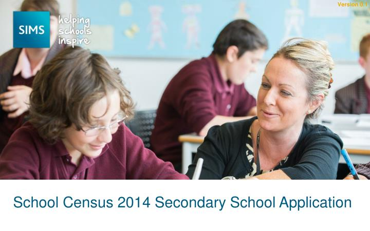 school census 2014 secondary school application n.