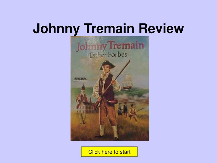johnny tremain review n.