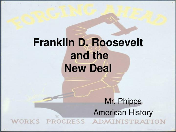 the positive impact of franklin delano roosevelts new deal program A promise made by franklin d roosevelt to take prompt action and a program  franklin delano roosevelt's new deal  roosevelt to appoint 6 new.