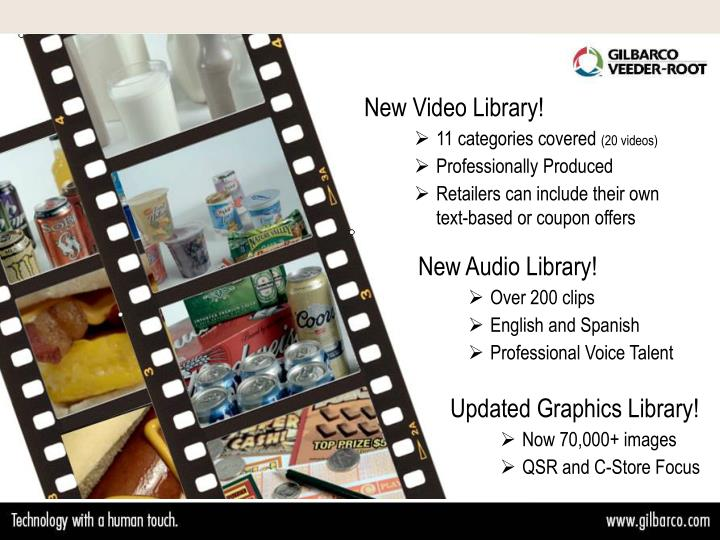 New Video Library!