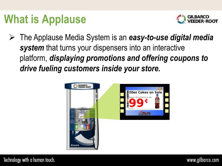 What is applause
