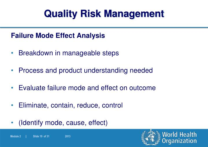 identify at least three fundamental risk and quality management policies This three-pronged description of the risk manager's functions (ie, loss control, claims management, and risk financing) is the foundation of the classic textbook on healthcare risk management, principles of risk management and patient safety, most recently updated in 2011 (youngberg principles.