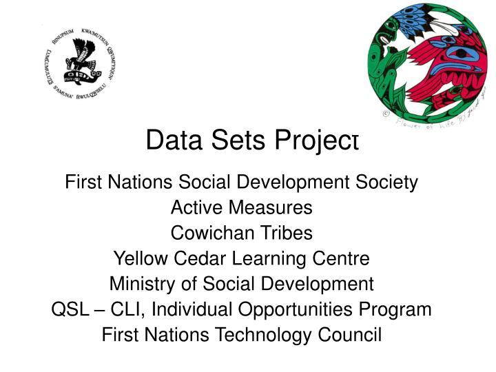 Data sets project