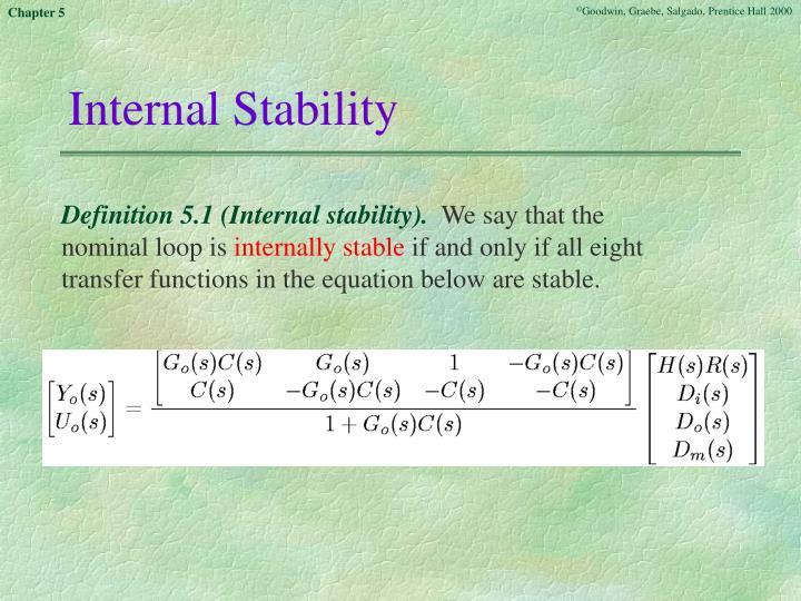 Internal Stability