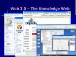 web 3 0 the knowledge web