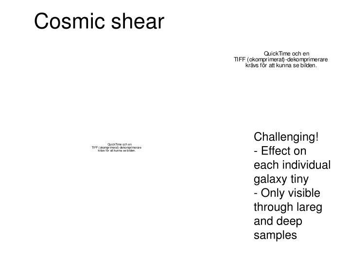 Cosmic shear