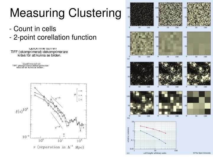 Measuring Clustering