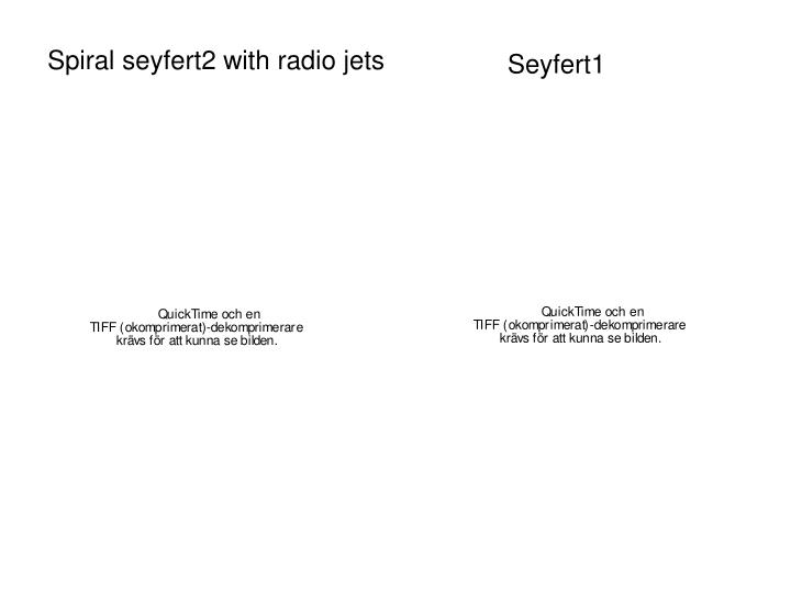 Spiral seyfert2 with radio jets