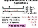 segment addition postulate applications2