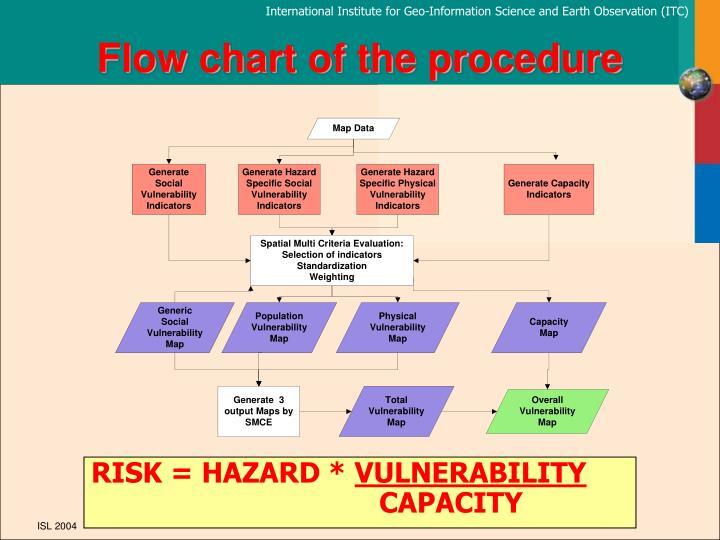 Flow chart of the procedure