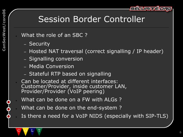 Session Border Controller