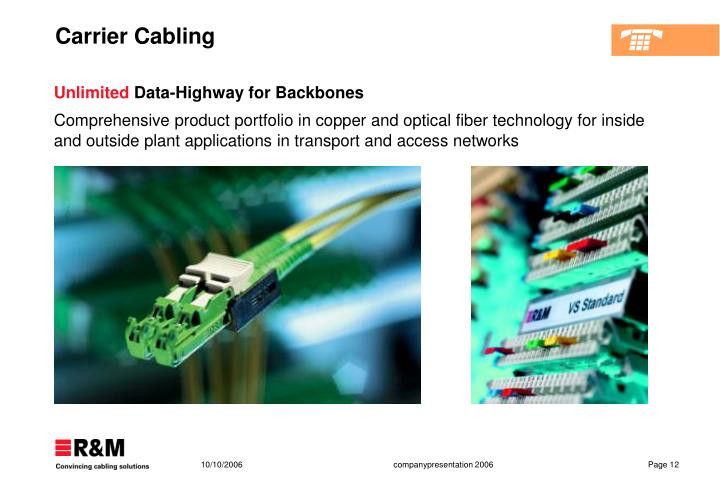 Carrier Cabling