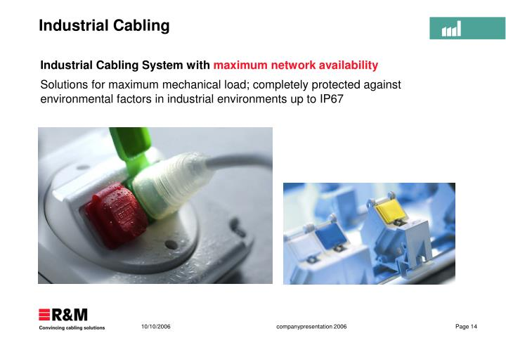 Industrial Cabling