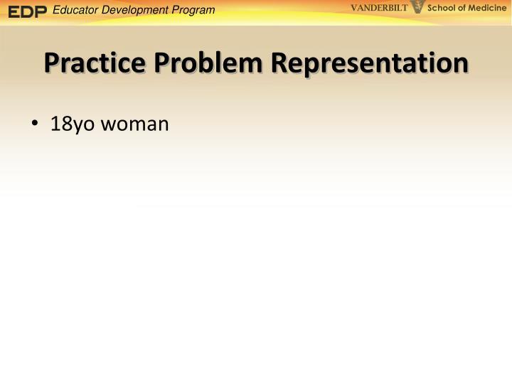 Practice Problem Representation