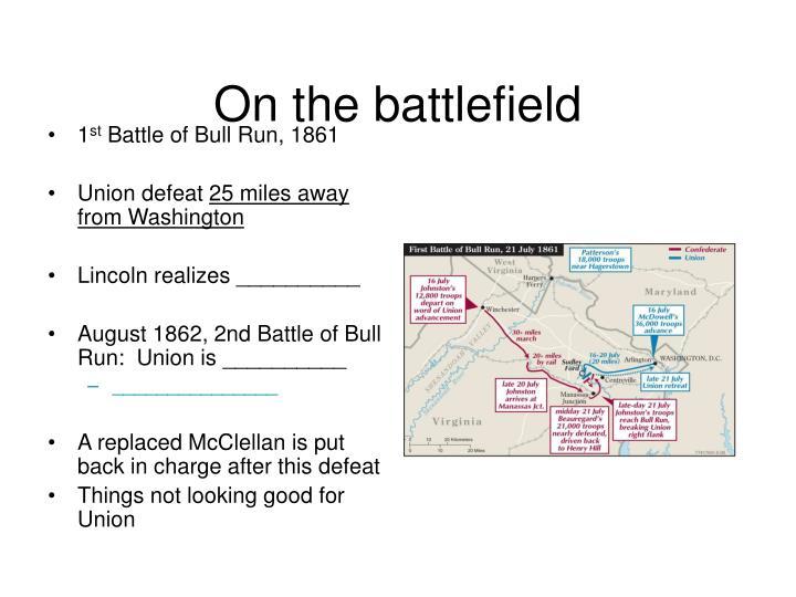 On the battlefield