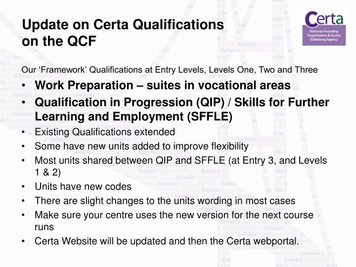 unit 1 qcf level 3 Ba033613 – specification – edexcel level 3 awards and certificate in assessing the quality of assessment (qcf) – qcf unit reference number (urn).
