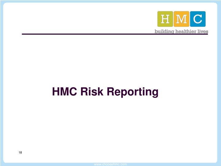 HMC Risk Reporting